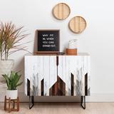 East Urban Home 2 Door Accent Cabinet Wood in Black, Size 30.0 H x 17.5 D in | Wayfair F7C2FD5E91934C6B9BE382A0878DD499