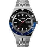 Watch M79 Automatic 40mm Stainless Steel Bracelet Steel/black - Metallic - Timex Watches