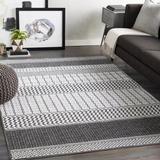 Mistana™ Krista Charcoal/Light Area Rug Polyester in Gray, Size 90.0 H x 63.0 W x 0.29 D in   Wayfair 02EC32E01FD04C1E8D85FE37A57297A2