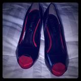 Nine West Shoes   Nine West Red Bottom Heels   Color: Black/Red   Size: 5.5