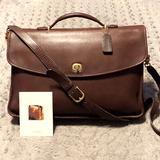 Coach Bags   Coach 90s Lexington Briefcase Very Dapper   Color: Gold/Tan   Size: Os