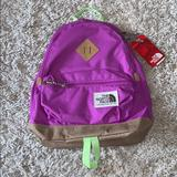 The North Face Bags | Nwt The North Face Mini Berkeley Backpack - Violet | Color: Green/Purple | Size: 19 Liter