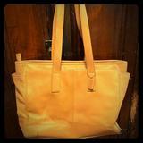 Coach Bags   Large Coach Diaper Bag   Color: Tan   Size: Os
