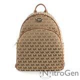 Michael Kors Bags | Michael Kors Abbey Jacquard Leather Backpack Nwt | Color: Brown/Tan | Size: Os
