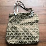 Michael Kors Bags   Michael Kors Canvas Signature Tote-Brand New!!!   Color: Tan/White   Size: Os