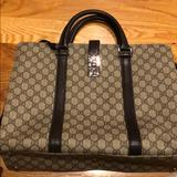 Gucci Bags | Gently Used Gucci Briefcase | Color: Brown | Size: Os