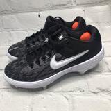 Nike Shoes   Nike Alpha Huarache Elite 2 Low Womens Size 7   Color: Black/Gray   Size: 7