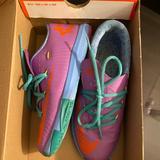 Nike Shoes | Kd Basketball Shoe | Color: Blue/Purple | Size: 3.5bb