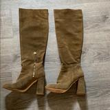 Free People Shoes   Free People Knee High Boots   Color: Brown/Green   Size: 8