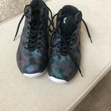 Nike Shoes | Nike Women Basketball Shoes Size 8,5 | Color: Blue/Purple | Size: 8.5