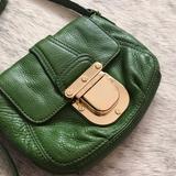 Michael Kors Bags | Michael Kors Charlton Crossbody Buckle Bag Green | Color: Gold/Green | Size: Small
