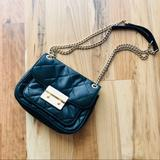 Michael Kors Bags | Michael Kors Small Sloan Purse | Color: Black/Gold | Size: Os