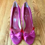 Kate Spade Shoes | Kate Spade Heels | Color: Pink/Red | Size: 10