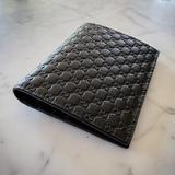Gucci Bags   Gucci   Gg Micro Guccisima Leather Bifold Wallet   Color: Black   Size: Os