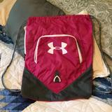 Under Armour Bags | Gym Bag | Color: Gray/Pink | Size: Os