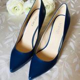Nine West Shoes   Nine West Ohemgee Dark Blue Synthetic Pumps   Color: Blue   Size: 8.5