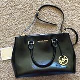 Michael Kors Bags   Michael Kors Double Zip Tote Jet Set Travel Bag   Color: Black/Gold   Size: Os