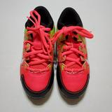 Nike Shoes | Nike Cleats (Baseball, Football Or Soccer) | Color: Green/Pink | Size: Youth 12c