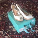 Jessica Simpson Shoes   Jessica Simpson White Patent Leather Pumps   Color: White   Size: 7m