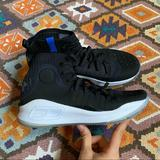 Under Armour Shoes   Boy'S Under Amour Basketball Sc Sneakers Y 6.5   Color: Black/Blue   Size: 6.5b