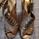 Coach Shoes   Heeled Sandals 001   Color: Brown   Size: 7.5