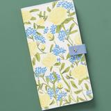 Anthropologie Bags   New Anthropologie Yellow Floral Travel Wallet   Color: Blue/Yellow   Size: Os