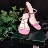 Ralph Lauren Shoes | Lauren Ralph Lauren Pink Kayley Sexy Heels 9b | Color: Brown/Pink | Size: 9