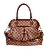 Louis Vuitton Bags | Louis Vuitton Damier Ebene Trevi Gm Handbag Purse | Color: Brown/Gold | Size: Gm (Largest Size)