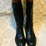 Coach Shoes   Coach Elm Riding Winter Fall Leather Winter Boots   Color: Black/Brown   Size: 5.5