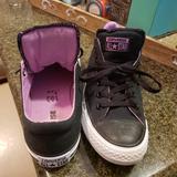 Converse Shoes | Converse Women'S Shoes | Color: Black/Purple | Size: 9.5