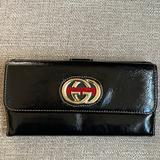 Gucci Bags | Gucci Leather Wallet | Color: Black | Size: Os