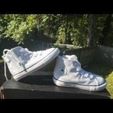 Converse Shoes | Infants Shoes,All Star High Top | Color: Silver | Size: 7 Infants