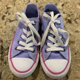 Converse Shoes | Converse All Stars | Low Top Sneakers | Kids 10.5 | Color: Pink/Purple | Size: 10.5 Juniors