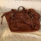 J. Crew Bags | J Crew Leather Computer Bag | Color: Brown | Size: 16 X 13