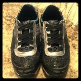 Michael Kors Shoes   *Sold*Micheal Kors Fashion Tennis For Little Girls   Color: Black/Silver   Size: 13g