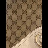 Gucci Bags   Original Gucci Beige Cloth And Hobo Bag   Color: Brown/Tan   Size: Os