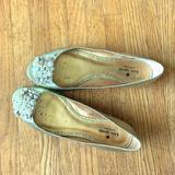 Kate Spade Shoes   Kate Spade Peep Toe Flats   Color: Gold   Size: 8