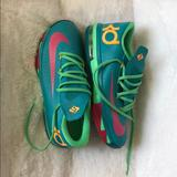 Nike Shoes   Kd 6 Hero Turbo   Color: Green/Pink   Size: 6.5