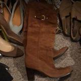 Michael Kors Shoes | Michael Kors Brown Suede Knee Boots. | Color: Brown | Size: 8.5
