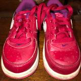 Nike Shoes   Nike Air Force One Childs 7c Fuchsia Red Pink   Color: Pink/Red   Size: 7c Toddler