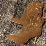 Michael Kors Shoes | Michael Kors Women Boot Size 9 Fits Also 8.5 | Color: Brown/Tan | Size: 9