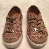 Michael Kors Shoes   Michael Kors Children Fashion Sneakers   Color: Tan   Size: 8g