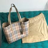 Burberry Bags   Burberry Reversible Tote   Color: Cream   Size: 35 Cm X 30 Cm X 11 Cm