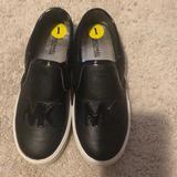 Michael Kors Shoes   Kids Size 1 Michael Kors Black Slip On Shoes   Color: Black/White   Size: 1bb