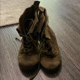 Nine West Shoes   Olive Green Combat Boots   Color: Green   Size: 5.5