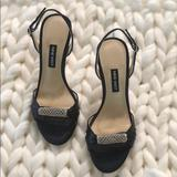 Nine West Shoes   Nine West Heel Sandal   Color: Black   Size: 5.5
