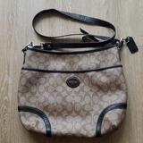 Coach Bags   Coach Signature Crossbody Handbag   Color: Brown   Size: 14 X 11