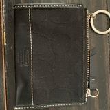 Coach Bags   Coach Card Case Mini Keychain Wallet   Color: Black   Size: Os