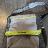 Columbia Bags | Columbia Messenger Style Diaper Bag | Color: Gray/Green | Size: Os