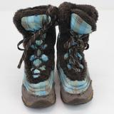 The North Face Shoes   Kid'S The North Face Winter Boots Size 1 Bown & B   Color: Blue/Brown   Size: 1bb